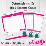 PlottiX Schneidematte 30,48 x 30,48 cm
