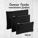 Canvas Tasche black