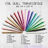 We R Memory Keepers Foil Quill Transferfolie