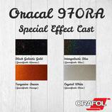 Vinylfolie Plotterfolie Oracal 970 Special Effect Cast DIN A4 (21x30cm)