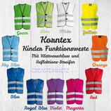 Korntex Kinder Funktionsweste Gr. XS (3-6 Jahre)