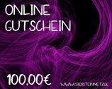Digitaler Onlineshop-Gutschein im Wert von 100,00€