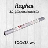 3D Glimmereffektfolie von RAYHER HOBBY 33x100cm Rolle