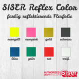 Siser Reflective Color Flexfolie 20x30cm