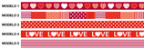 WASHI TAPES LOVE