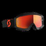 Scott Hustle X MX Orange Black