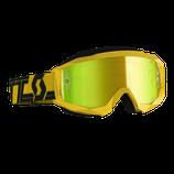 Scott Hustle X MX Yellow Black