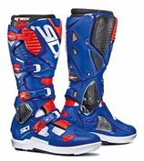 Sidi Crossfire 3 SRS White Blue Red Fluo