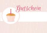 Gutschein Cupcake