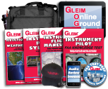 Gleim Instrument Kit inkl. Online-Groundschool, PPL-Refresher und Audio Review