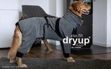 Dryup Cape ZIP.FIT mit Beinen -GRAU-