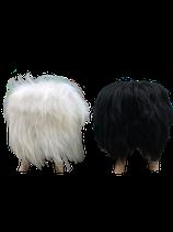 Tabouret en mouton