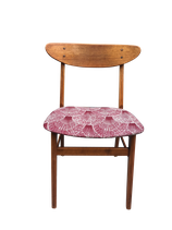 Chaise tissu Wax