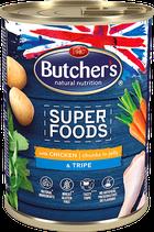 Butcher's Super Foods con trippa e pollo 400 gr