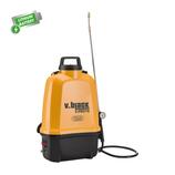 Pompa Elettrica a spalla Volpi lt.16 V-Black E-PRO16 con batteria al litio 12V