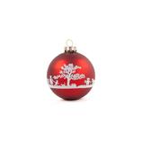 "Weihnachtskugel ""Fête de la Musique"" rot"