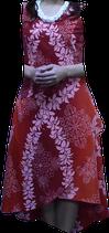 赤いフランダンス衣装