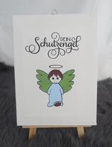 Engel Bub hellblau