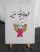 Engel Mädchen pink