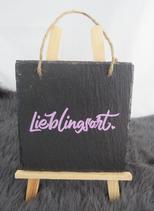 """Schiefer """"Lieblingsort"""""""
