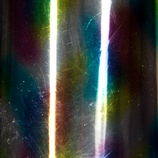 Glanzfolie - multicolor 'rainbow-effekt' - multi 100 cm x 6 cm