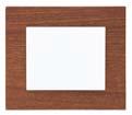 Plaque de finition en bois mdf acajou