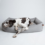 Cloud7 Hundebett Sleepy Deluxe Tweed grey