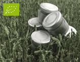 Bio Rohsaft aus Sprossengrün Erbse