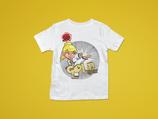 Goldgurt t-Shirt mit Namen