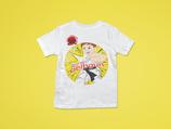 Gelbgurt t-Shirt mit Namen