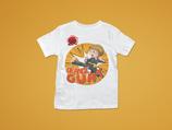 Orangegurt t-Shirt mit Namen
