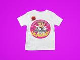 Lilagurt t-Shirt mit Namen