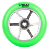 Chilli Pro  6-spoke neon green 110mm