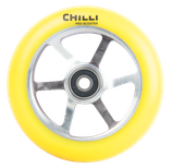 Chilli Pro 6-spoke neon yellow 110mm
