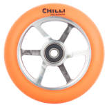 Chilli Pro 6-spoke neon orange 110mm