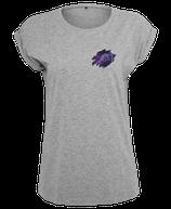 Damen Fische Shirt Grau