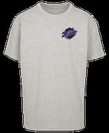 Herren Fische Shirt Grau