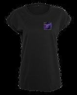 Damen Skorpion Shirt Schwarz