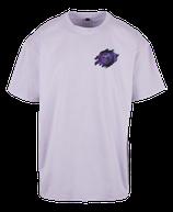 Herren Löwe Shirt Flieder