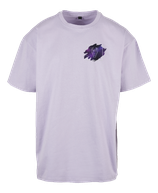 Herren Stier Shirt Flieder
