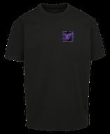 Herren Steinbock Shirt Schwarz