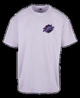 Herren Fische Shirt Flieder
