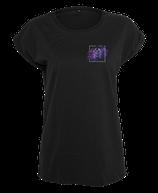 Damen Krebs Shirt Schwarz