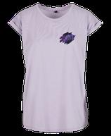 Damen Fische Shirt Flieder