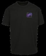 Herren Fische Shirt Schwarz