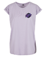Damen Stier Shirt Flieder