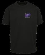 Herren Löwe Shirt Schwarz