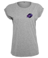 Damen Steinbock Shirt Grau