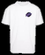 Herren Fische Shirt Weiß