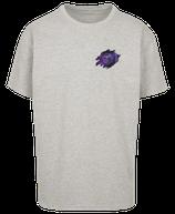 Herren Löwe Shirt Grau